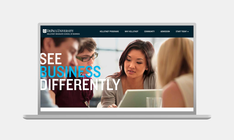 Multiple Depaul University Kellstadt Web Feature 1
