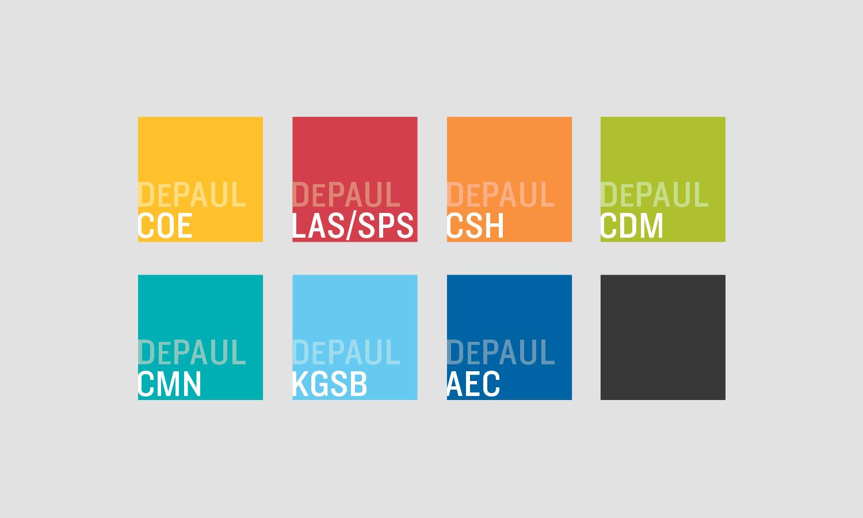 DePaul University   Integrated Marketing Campaign   Multiple